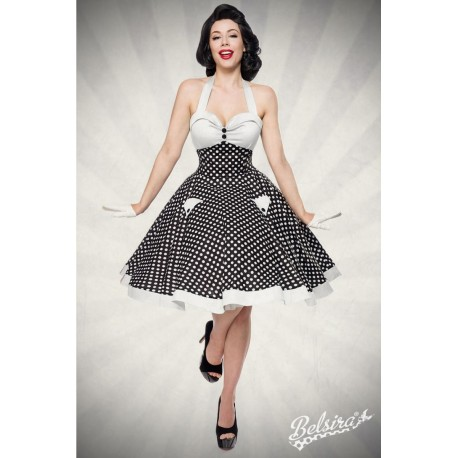Rochie Vintage pin up rockabilly fusta larga