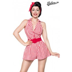Salopeta Retro jumpsuit pin up vintage
