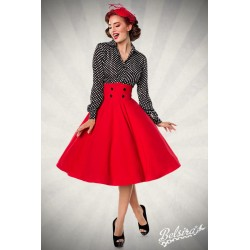 Fusta Circle vintage pinup, rockabilly rosie larga clos retro