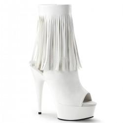 Botine piele cu toc inalt papuci dansatoare DELIGHT 1019