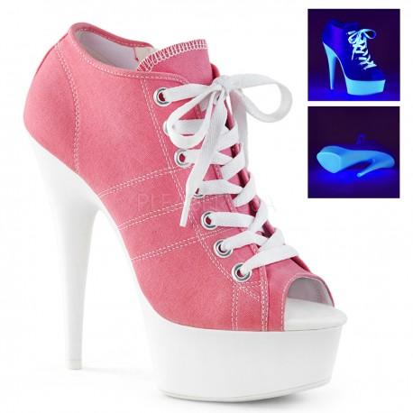 Pantofi adidas alb neon marimi mari toc inalt DELIGHT 600 SK 01