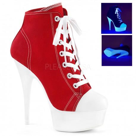 Pantofi adidas alb neon marimi mari toc inalt DELIGHT 600 SK 02