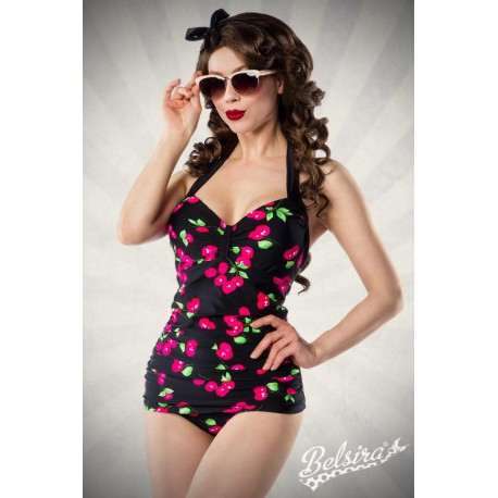 Costum de Baie Vintage pin up retro de epoca