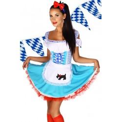 Costum oktoberfest rochie berar festivalul berii Dirndl 2092