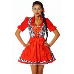 Rochie Oktoberfest costum dirndl berar festivalul berii 2106