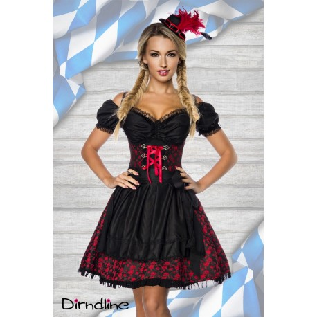 Costum Dirndl rochie oktoberfest berar 0000