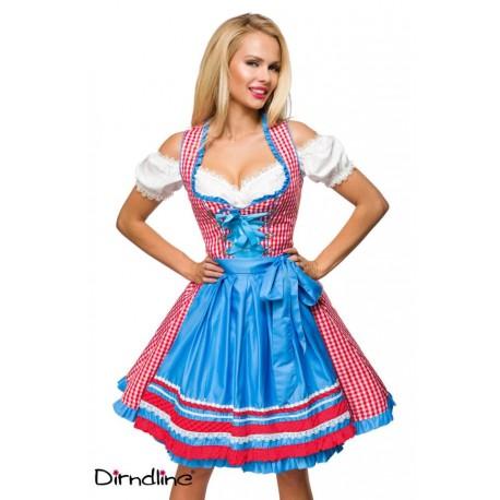 Rochie Oktoberfest berar festivalul berii balul vanatorilor dirndl 0037 carouri