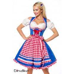 Rochie Oktoberfest berar festivalul berii balul vanatorilor dirndl 0038 carouri