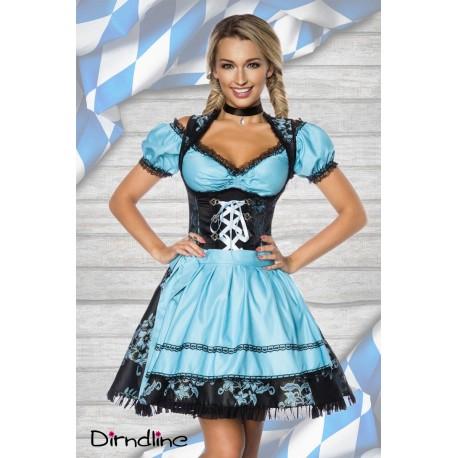 Costum oktoberfest rochie berar Dirndl 0000