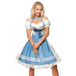 Rochie Oktoberfest berar festivalul berii balul vanatorilor dirndl 0040 carouri