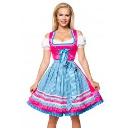 Rochie Oktoberfest berar festivalul berii balul vanatorilor dirndl 0043 carouri