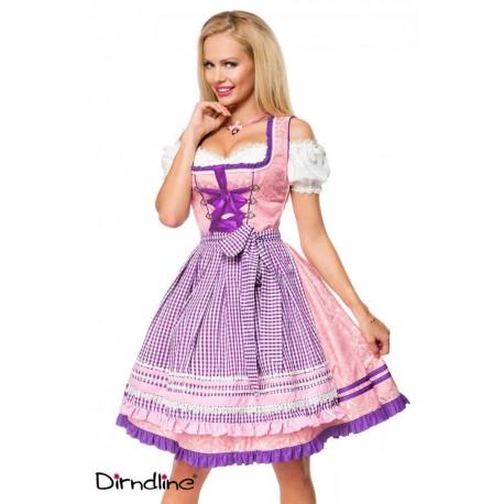 Rochie Oktoberfest berar festivalul berii balul vanatorilor dirndl 0044 carouri