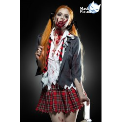 Costum Eleva Zombie rochie halloween horror 0010