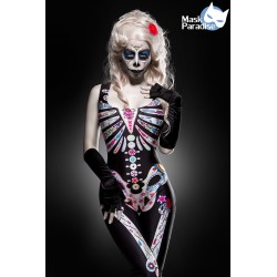 Costum Craniu mexican halloween dias de los muertos teatru 0008