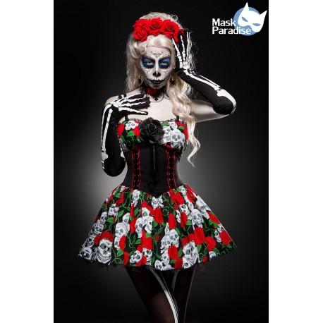 Costum Ziua Mortilor dias de los muertos rochie halloween teatru 0006