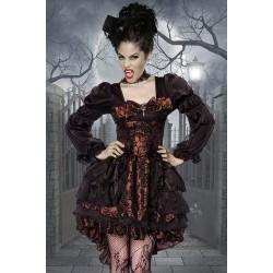 Rochie Vampir halloween baroc burlesque accesorii teatru 3711