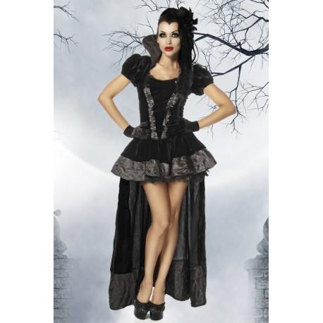Costum Vampir rochie halloween recuzita teatru burlesque 1771