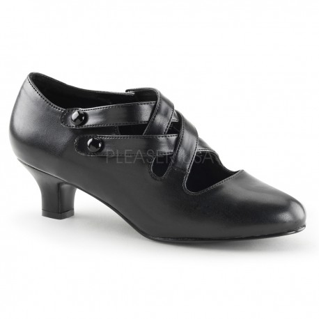 pantofi cu toc mic recuzita teatru DAME 02