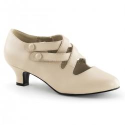 pantofi cu toc mic stil victorian recuzita teatru DAME 02