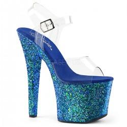 Sandale platforma inalta papuci dansatoare de club RADIANT 708 LN