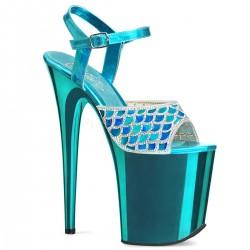 Sandale cu toc inalt papuci dansatoare sexy club FLAMINGO 809 MMRS