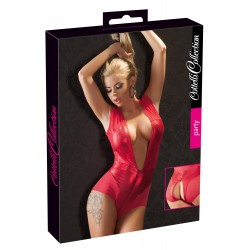 Body Wetlook plasa lenjerie rosie erotica streaptease 0970