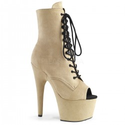 Botine cu toc inalt papuci dansatoare dans la bara ADORE 1021 FS