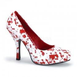 Pantofi halloween teatru spectacol cu toc mediu BLOODY 12