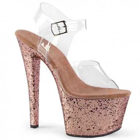 Sandale SKY 308 LG platforma inalta papuci club de noapte dansatoare
