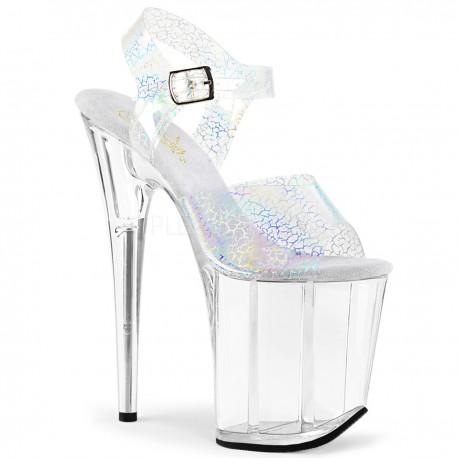 Sandale cu platforma inalta marimi mari papuci FLAMINGO 808 N CK