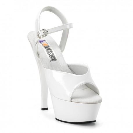 Sandale cu platforma papuci cu toc inalt dansatoare JULIET 209