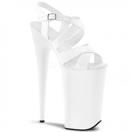 Sandale cu platforma inalta club videochat papuci cu toc inalt BEYOND 097