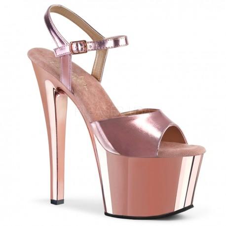 Sandale cu platforma inalta papuci sexu club SKY 309