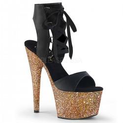 Sandale cu platforma inalta papuci dansatoare de club ADORE 700-14