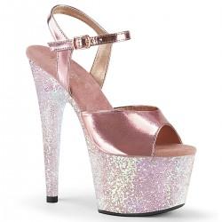 Sandale cu platforma inalta papuci dans la bara marimi mari ADORE 709 LG