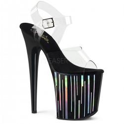 Sandale cu platforma inalta papuci de club FLAMINGO 808 HP-1