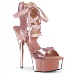 Sandale dansatoare papuci cu toc inalt sexy club marimi mari  DELIGHT 600 14