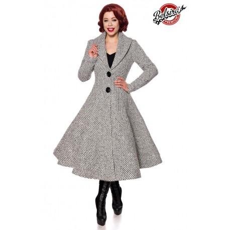 Palton Vintage sacou pin up lana bumbac 50133