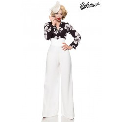Pantaloni Charlene vintage retro pin up largi