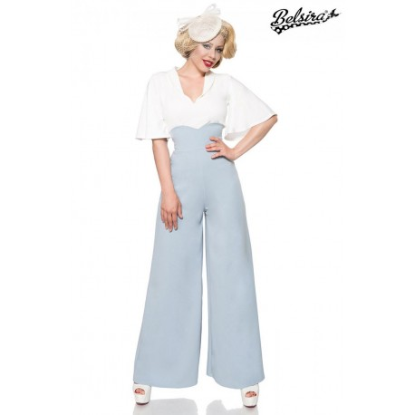 Pantaloni Charlene vintage retro pin up largi