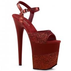 Sandale cu toc inalt papuci de club FLAMINGO 809 2 G