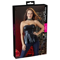 Top Aspect Ud bluza wetlook mulata sexy club