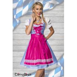 Costum rochie Dirndl oktoberfest berar balul vanatorilor 0021