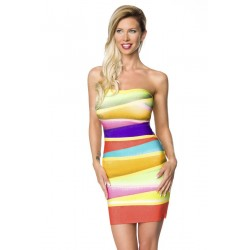 Rochie multicolora 4673