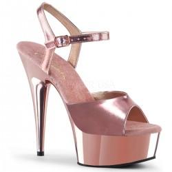 Sandale marimi mari comode rose DELIGHT 609