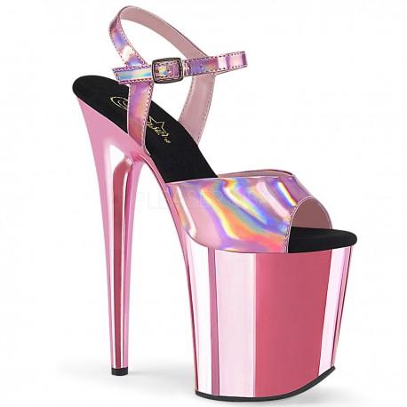 Sandale FLAMINGO 809 HG cu toc inalt papuci dansatoare de club