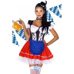 Costum Dirndl rochie oktoberfest festivalul berii 2093