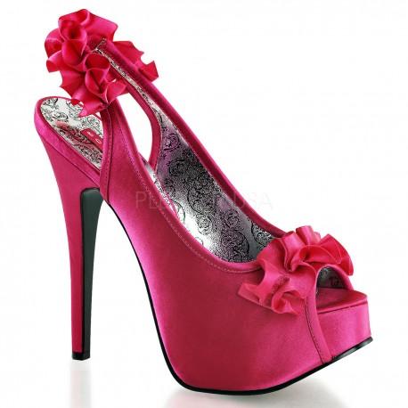pantofi toc inalt dama fucsia TEEZE 25