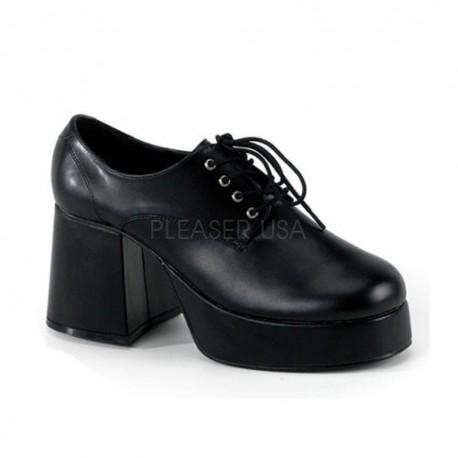 Pantofi retro cu toc gros teatru JAZZ 02