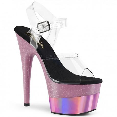 Sandale cu platforma inalta papuci de club ADORE 708 2HGM